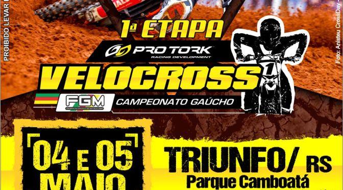 Triunfo recebe a abertura do Pro Tork Gaúcho de Velocross 2019 neste fim de semana