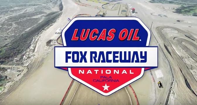 Volta virtual Lucas Oil Pro Motocross 2019 em Pala