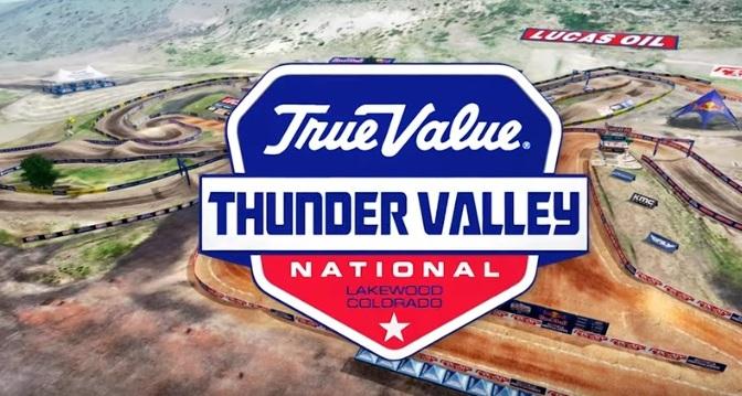 Volta virtual Lucas Oil Pro Motocross 2019 em Thunder Valley