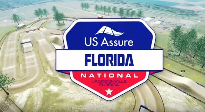 Volta virtual Lucas Oil Pro Motocross 2019 em Jacksonville