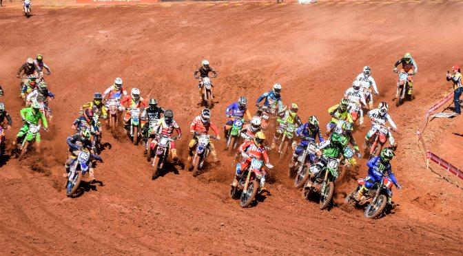 3ª etapa do Brasileiro de Motocross teve provas classificatórias realizadas neste sábado
