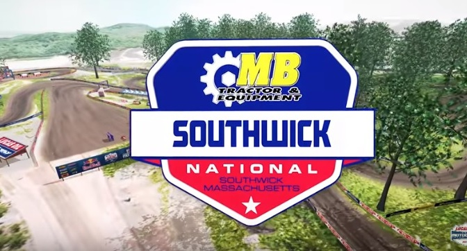 Volta virtual Lucas Oil Pro Motocross 2019 em Southwick