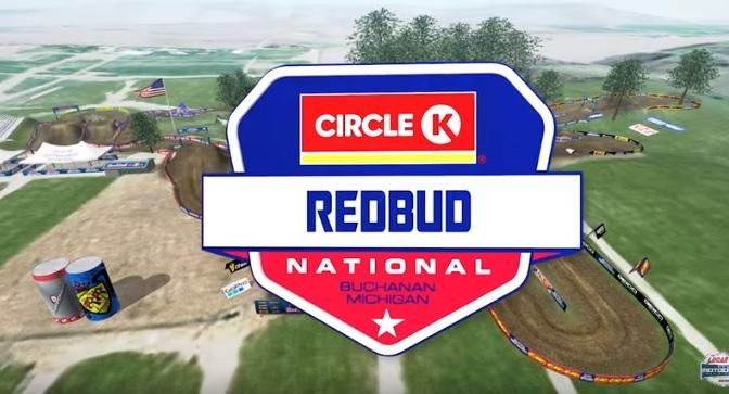 Volta virtual Lucas Oil Pro Motocross 2019 em RedBud