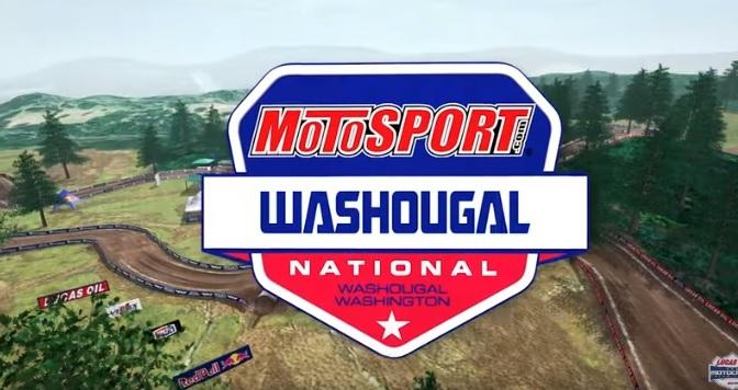 Volta virtual Lucas Oil Pro Motocross 2019 em Washougal