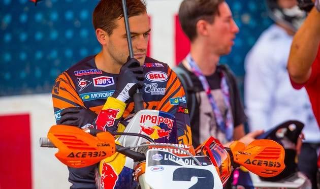 Cooper Webb fora das duas últimas etapas do AMA Motocross 2019