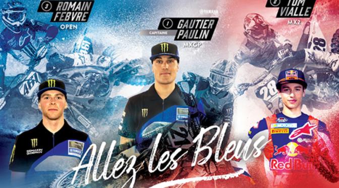 Apresentação do Team França para o Nações 2019