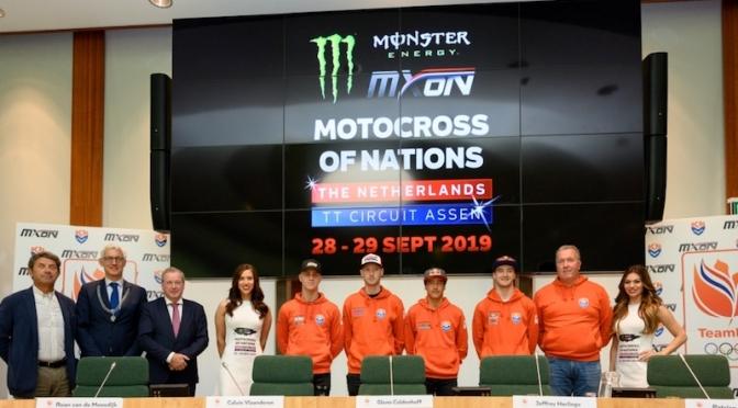 Revelado o team dono da casa do Motocross das Nações 2019