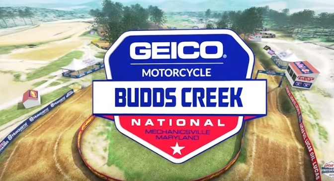 Volta virtual Lucas Oil Pro Motocross 2019 em Budds Creek