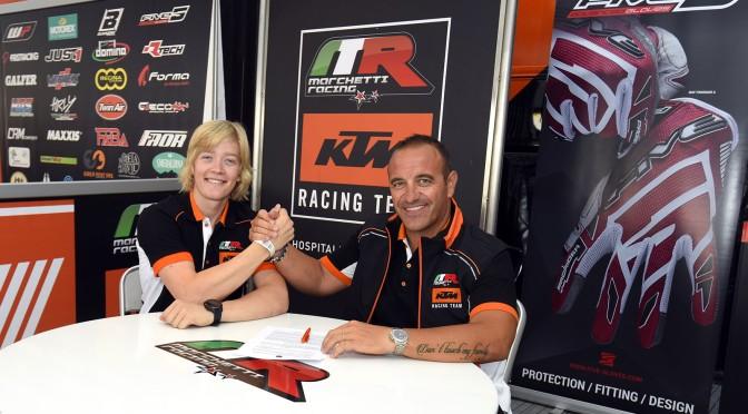 Marchetti Racing contrata Kevin Horgmo para disputar o Mundial de Motocross em 2020