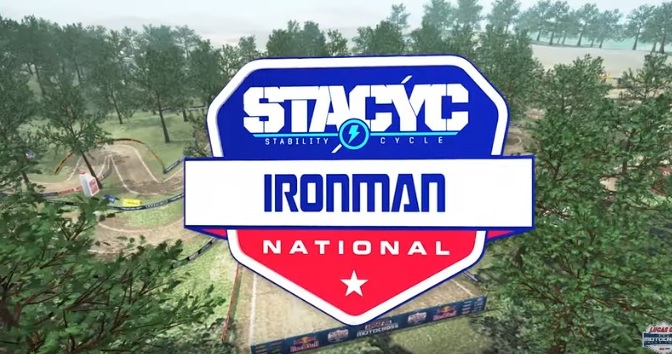 Volta virtual Lucas Oil Pro Motocross 2019 em Ironman