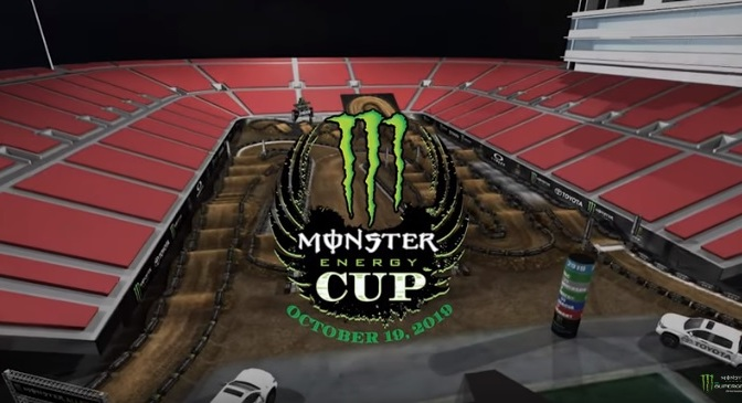Volta virtual Monster Energy Cup 2019