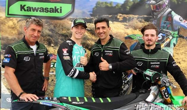 Mitchell Harrison com a Bud Racing Kawasaki em 2020
