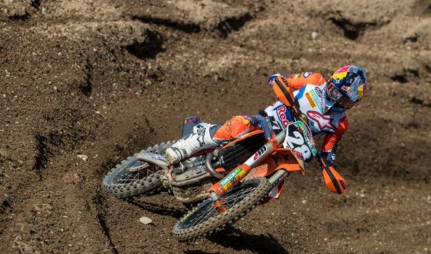 Tom Vialle fora do team França do MXoN 2019