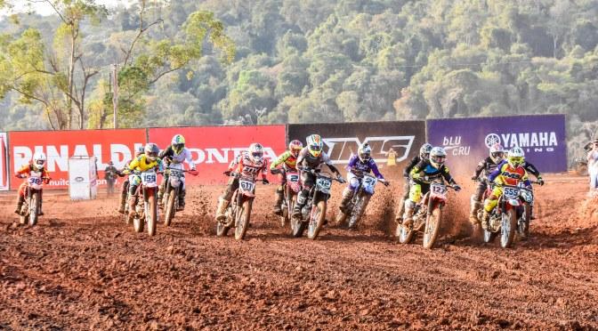 Definidos neste sábado(14) os primeiros campeões da temporada 2019 do Brasileiro de Motocross