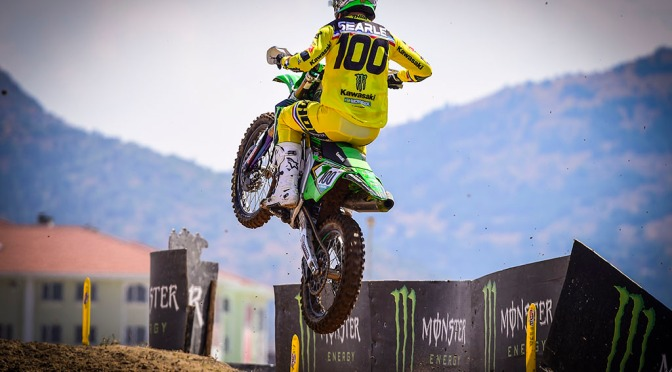 Tommy Searle fora do MXGP da Turquia
